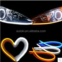 Autoki super grade color automotive LED strip light,flexible led drl/ daytime running light