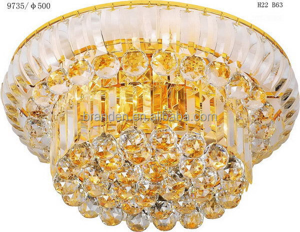 Alibaba china classical casino crystal ceiling light