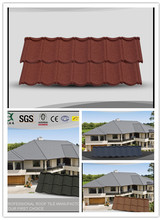 Low cost roofing tiles/stone coated roofing sheet