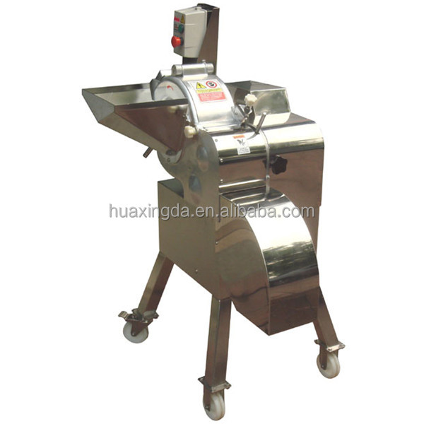 Industrial Potato Cube Cutter , Fruit Dicer ,fresh Vegetables Dicing Machine