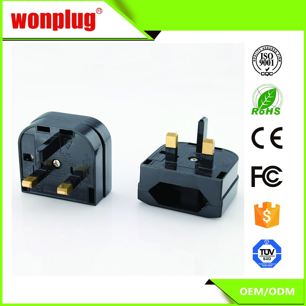 Cheap Price High Quality 1 Year Guarantee EU to Uk Adapter Plug smart adapter plug