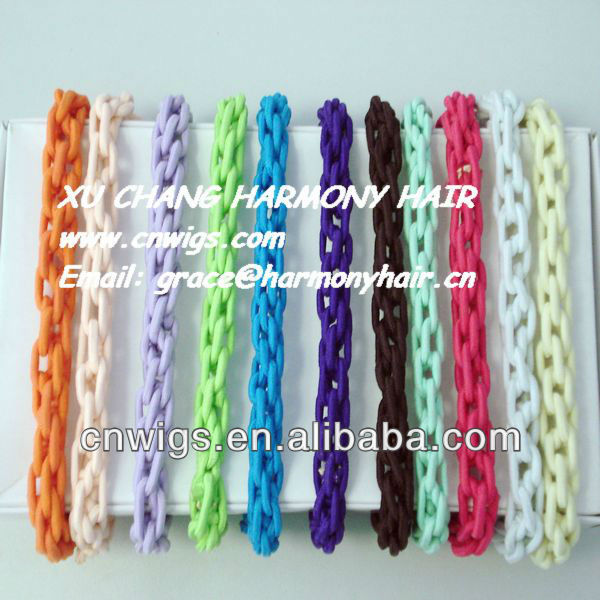 SUPER QUALITY WHOLESALE hair band elastic thick colored