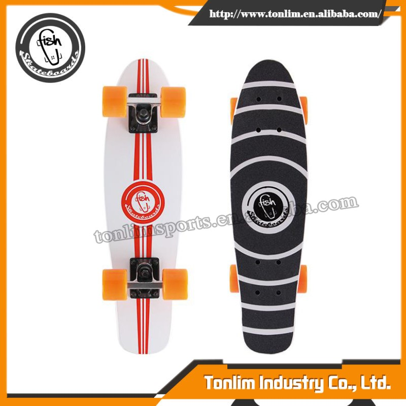 portable super motor fiberglass skateboard deck