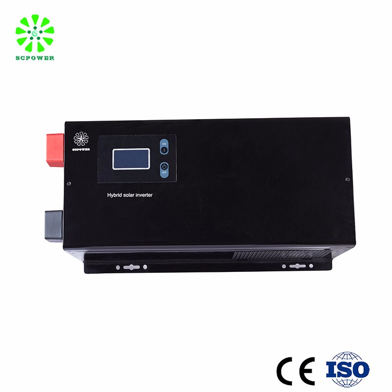 Public Electrocar Battery Charging Solar System 24v 220v DC AC Off Grid 5kw Power Inverter