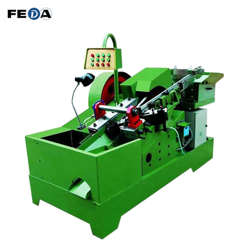FEDA automatic steel pipe rolling machine high strength eye bolts machine stainless steel bolts