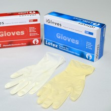 Powdered latex medical examination gloves malaysia manufacturer