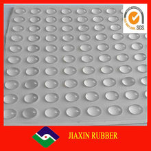 China factory high quality clear silicone self adhesive rubber bumpers