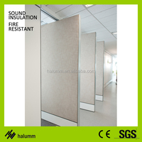 acoustic movable partition mdf wood soundproof hotel movable partition room divider