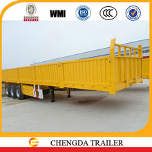 Hot selling 3 axle cargo container trailer with container lock optional