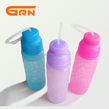 Unique design foldable water bottle pet bottle sport water bottle