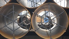 Large diameter steel pipe manufacturers and spiral wound steel pipe