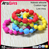 Factory direct sale silicone bead bracelets