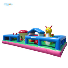 Cool Air Inflated Boys Bouncy Castle Games For Sale