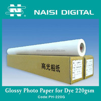 high glossy inkjet wholesale photo paper