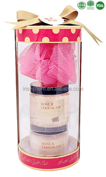 Beauty skin care gift set shower gel body lotion for Valentine's Day