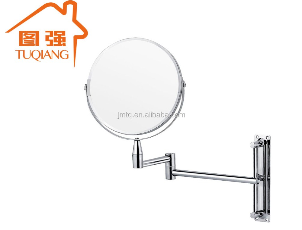Wall mounted magnifying shaving wall mirror wholesale mirror for bathroom