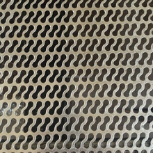 SS304 5mm thick stainless steel perforated sheet