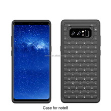 New Design For Samsung Galaxy Note 8 Case Silicon PC Bling Diamond 3 in 1 Heavy Duty Phone Cover