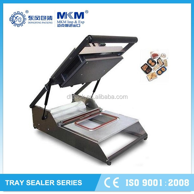 manual Automatic Grade and Sealing Machine Type food tray sealer