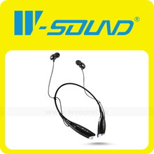 Hot Selling Bluetooth Headset/mini wireless ear-hook headset/Super slim On-ear stereo Bluetooth earphone with MIC
