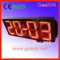 Outdoor 4 digit double side led digital counter