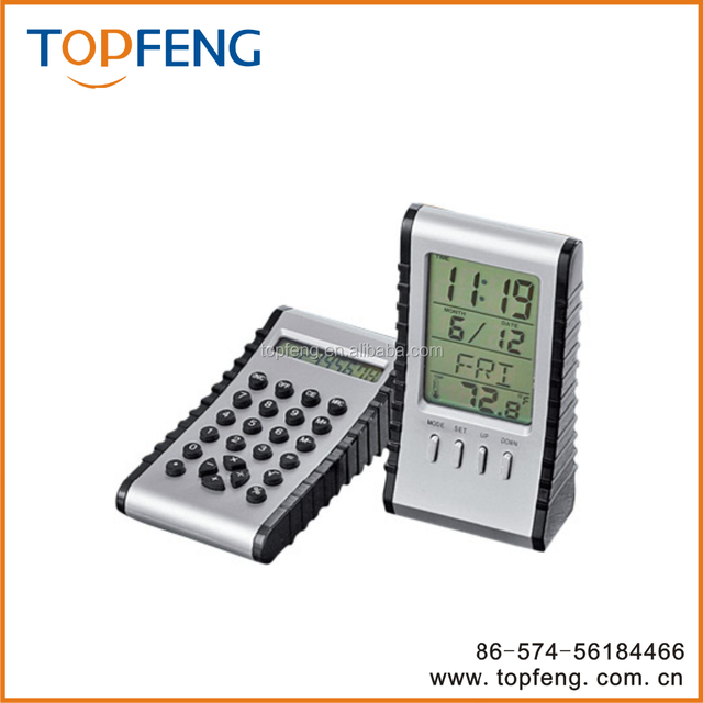 2-in-1 Calculator LCD Clock/Calculator with clock/lcd desk clock