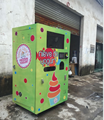 Automatic ice cream vending machine for ice cream / frozen yogurt vending machine