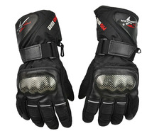 Factory waterproof breathable motorcycle full finger ski skate gloves safety racing gloves