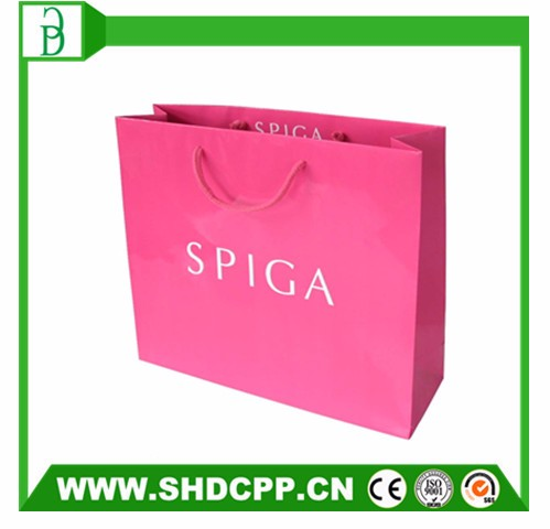 china alibaba hot-selling custom logo paper gift bag