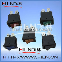 6A automotive miniature rocker switches 250V