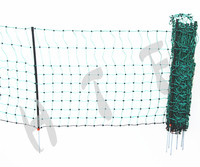 Not Coated Frame Finishing and HDPE Plastic Type dog fence netting
