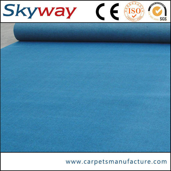 Factory good quality hot sell nonwoven carpet laser engraving