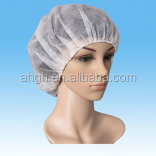 Disposable clip cap / nurse cap / surgical cap buffant cap hair cover nonwoven cap