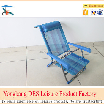 folding beach chair dimensions specifications