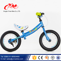 "CE customized no pedal bike12"" balance kids/2 wheels mini toy balance running bicycle/push racing bike for sale"