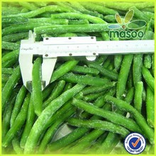 Frozen string green bean cut