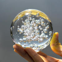 Bubble Glass Crystal Ball