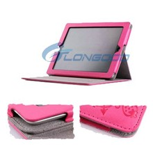 Magic Girl With 3-angle Rotating Stand Leather Case Cute Tablet Cover for iPad mini Retina