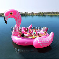 2018 Hot sale water PVC inflatable flamingo floating pool float inflatable flamingo for sale