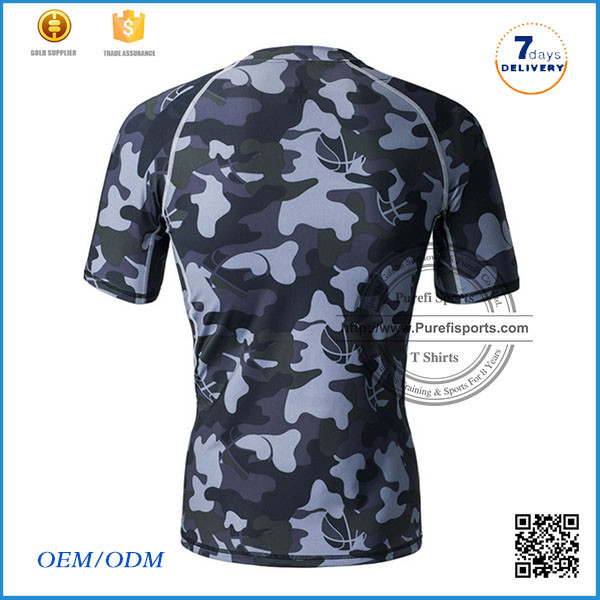 Hot Selling Gym Wear Men's wholesale custom lycra dry fast sports t shirts ladies t-shirt print design