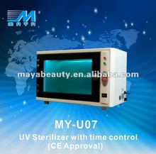 MY-U07 2015 portable uv sterilizer for home use/led uv sterilizer using in the dentistry and hospital