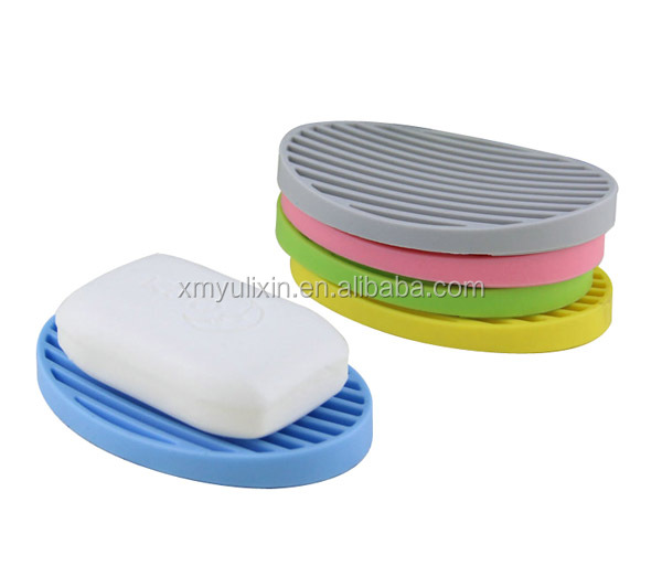 Popular silicone rubber soap holder