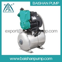cast iron material self-priming Wenling pump with stainless steel tank