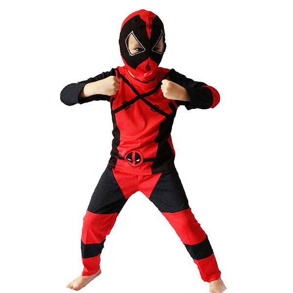 2017 new arrival deadpool costume