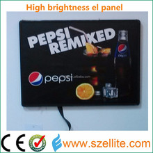 2015 innovative advertising thin paper brand promotional el light