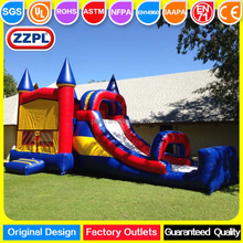 ZZPL Cheap Inflatable Bouncy Castle for sale, Inflatable Adult Bounce House water Slides