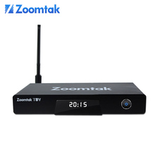 Dual band wifi IPTV Arabic channel Zoomtak T8V Set Top Box with Factory Price