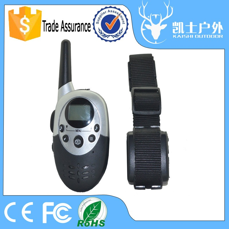 High Quality Electronic Dog Shock Collar with Works Up to 1000 Meters Range