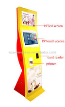 New Style! Multi-function Three-sreen Touch Self-service Terminal