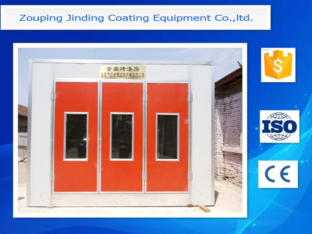 powder coating oven burner/spray bake paint booth JD-A2